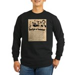 Wanted The Earps Long Sleeve Dark T-Shirt