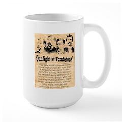 Wanted The Earps Large Mug