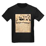 Wanted The Earps Kids Dark T-Shirt