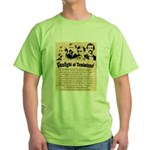 Wanted The Earps Green T-Shirt