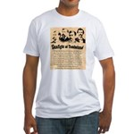 Wanted The Earps Fitted T-Shirt