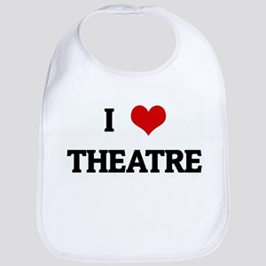 I Love THEATRE Bib