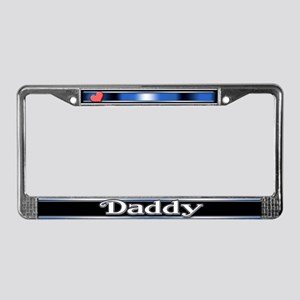 Daddy License Plate Frame