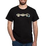 Chimp No Evil Dark T-Shirt