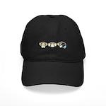 Chimp No Evil Black Cap