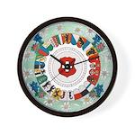Canton Wheel Wall Clock