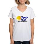 Sunny 106 Women's V-Neck T-Shirt