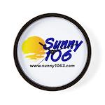 Sunny 106 Wall Clock