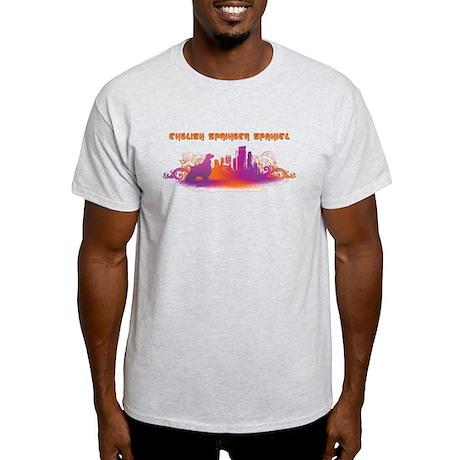 """City"" English Springer Spaniel Light T-Shirt"