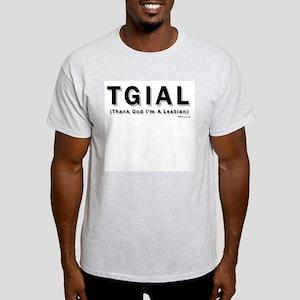 TGIAL Ash Grey T-Shirt