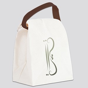 Alto Clef by LH Canvas Lunch Bag