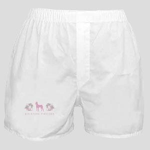 """Elegant"" Miniature Pinscher Boxer Shorts"