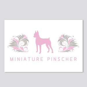 """Elegant"" Miniature Pinscher Postcards (Package of"