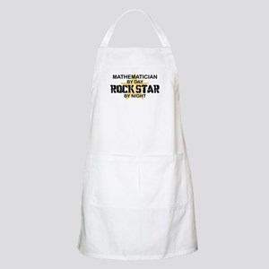 Mathematician Rock Star by Night BBQ Apron