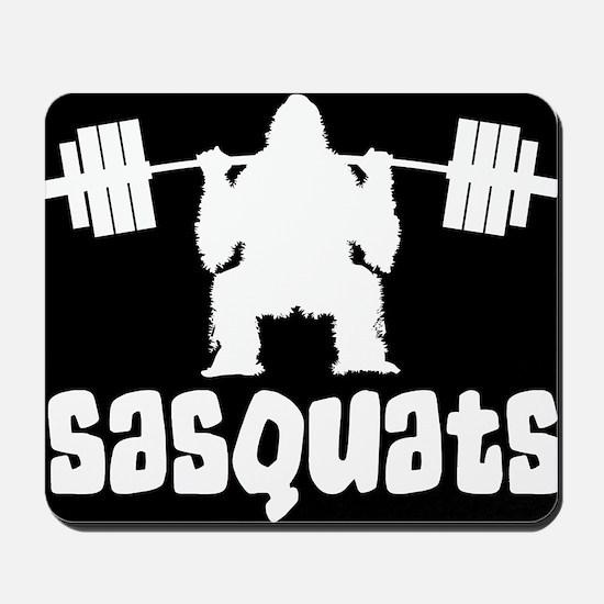 Sasquats Mousepad