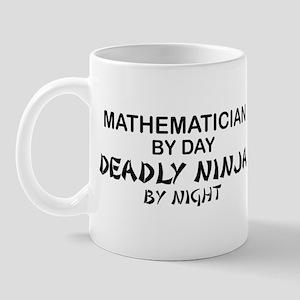 Mathematician Deadly Ninja Mug