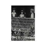 Alice Paul Votes for Women Rectangle Magnet