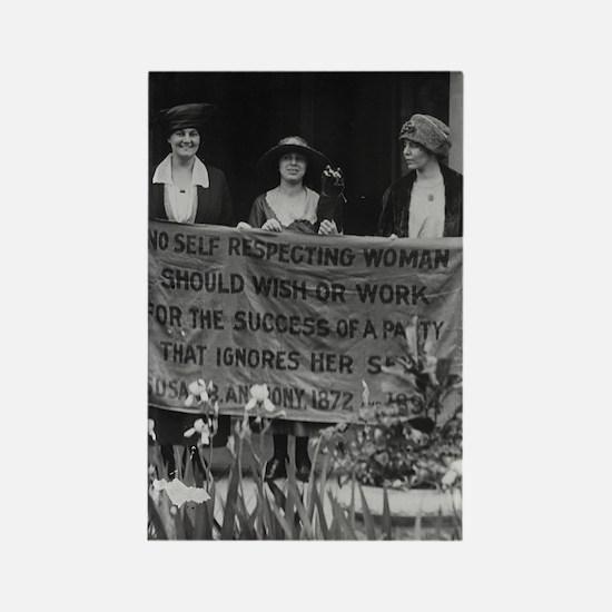 Alice Paul Votes for Women Rectangle Magnet