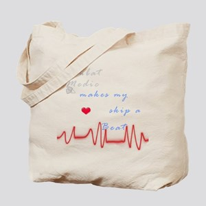 Heart skip a beat Tote Bag