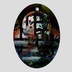 """Windows... intimate garden"" Ornament (O"