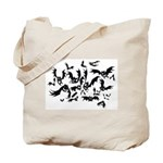 the bats Tote Bag