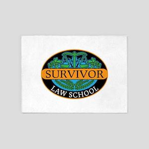 Law school survivor new attorney la 5'x7'Area Rug