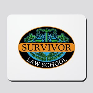 Law school survivor new attorney lawyer Mousepad