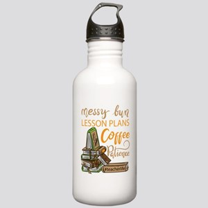 Messy bun lesson plans Stainless Water Bottle 1.0L