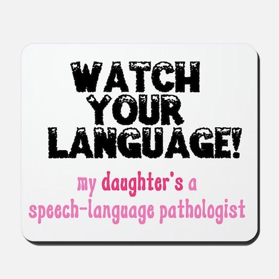SLP Daughter Mousepad