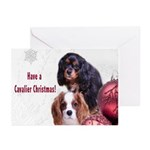 Have A Cavalier Christmas! Greeting Cards