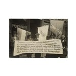 Suffragists Protest Republicans! Rectangle Magnet