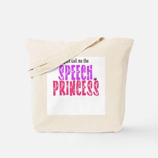 SPEECH PRINCESS Tote Bag
