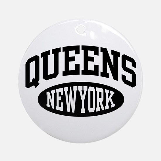 Queens New York Keepsake (Round)