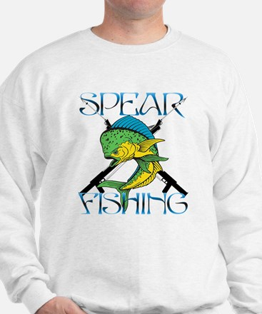 DOLPHIN SPEAR FISHING Sweatshirt