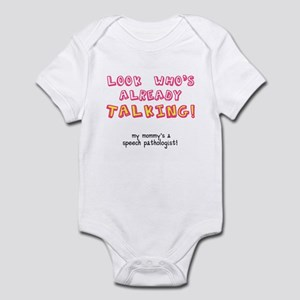 LOOK WHO'S TALKING Infant Bodysuit
