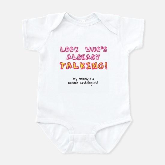 LOOK WHO'S TALKING Infant Bodysuit