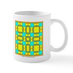 Dutch Gold And Yellow Design Mug