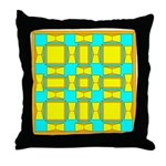 Dutch Gold And Yellow Design Throw Pillow