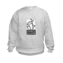 Vintage Death Tarot Card Sweatshirt
