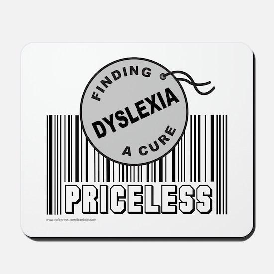 DYSLEXIA FINDING A CURE Mousepad