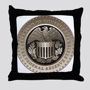 The Federal Reserve Throw Pillow