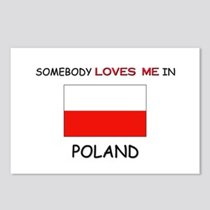 Somebody Loves Me In POLAND Postcards (Package of