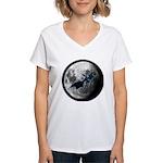 Sephiranoth Skydancing Women's V-Neck T-Shirt