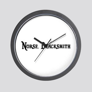 Norse Blacksmith Wall Clock