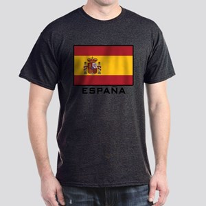 Flag of Spain Dark T-Shirt