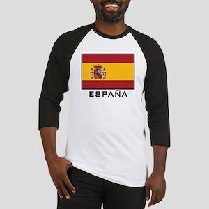 Flag of Spain Baseball Jersey