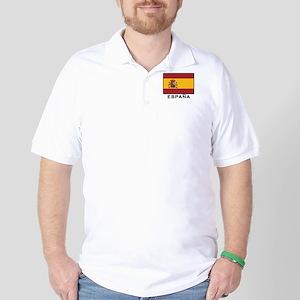 Flag of Spain Golf Shirt
