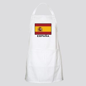 Flag of Spain BBQ Apron