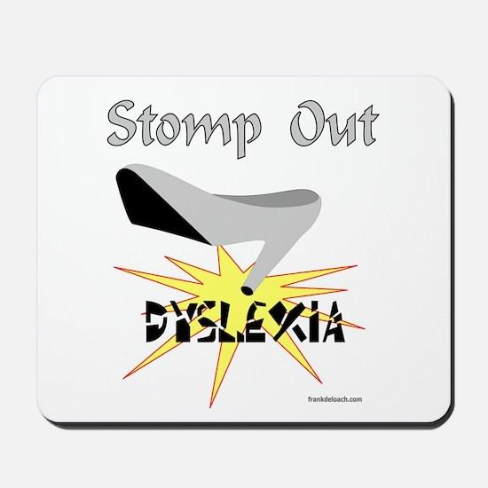 DYSLEXIA AWARENESS Mousepad