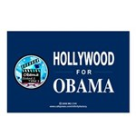 HOLLYWOOD FOR OBAMA Postcards (Package of 8)